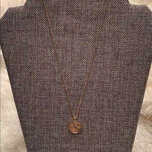 """Jewelry - Monogram """"S"""" Necklace"""